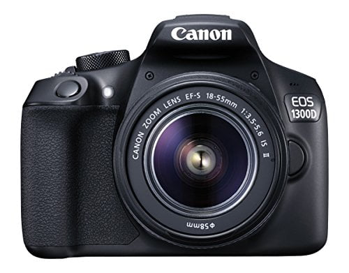 canon eos 1300d 18mp digital slr camera black with 18 55mm isii lens 16gb Nikon D3300 and Simple Coupon with Review
