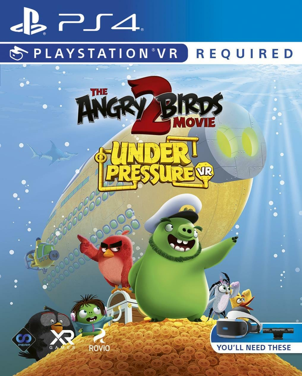 Angry Birds Movie 2 PS VR Game (PS4)