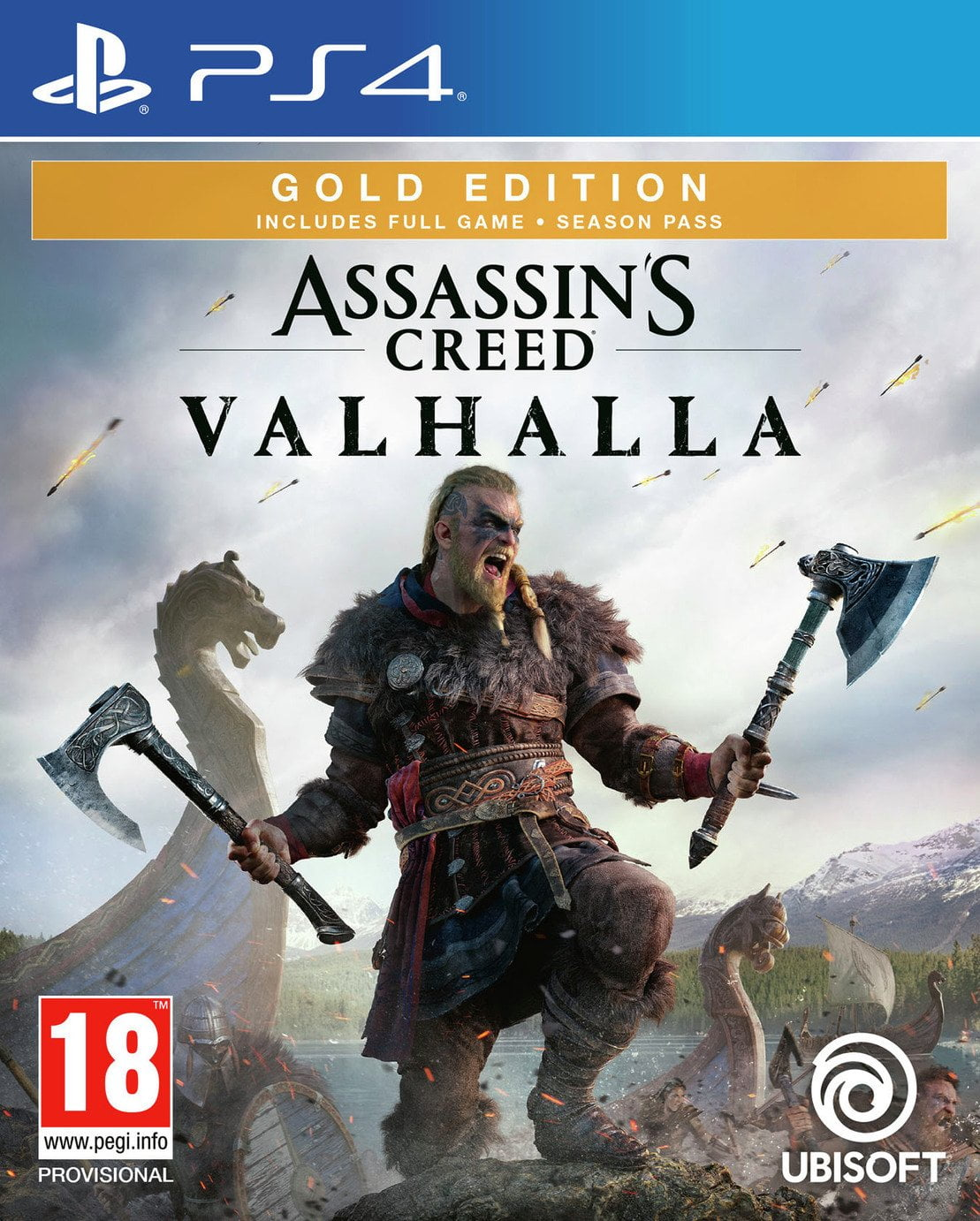 Assassin's Creed Valhalla Gold Edition PS4 Game Pre-Order