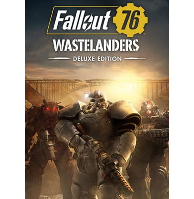Bethesda Fallout 76: Wastelanders Deluxe Edition video game PC/Mac...