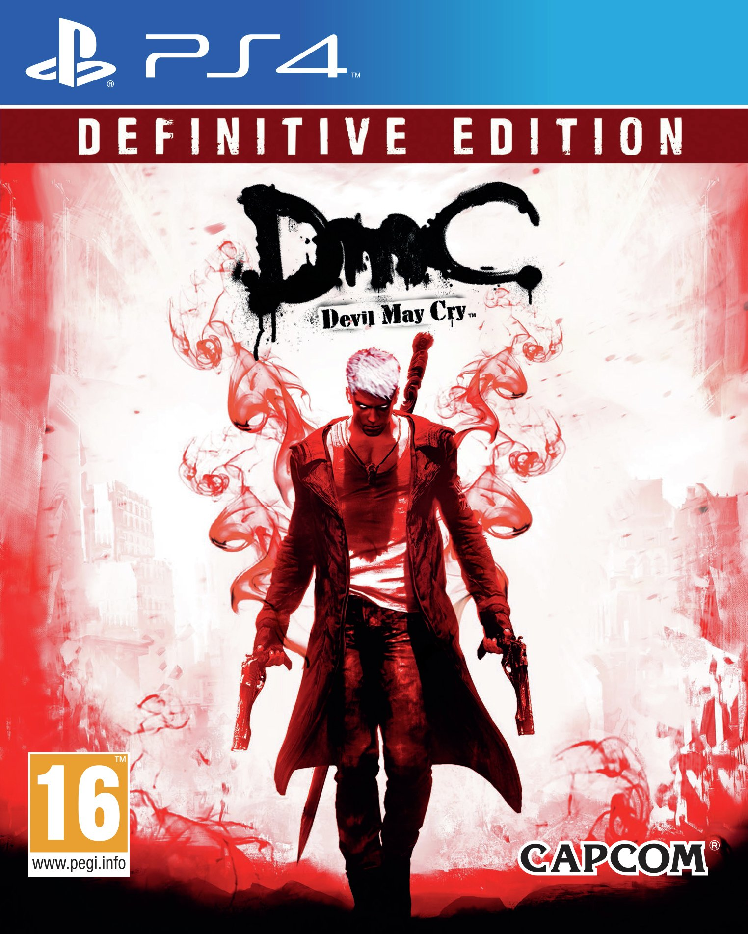 Devil May Cry Definitive Edition PS4 Game.