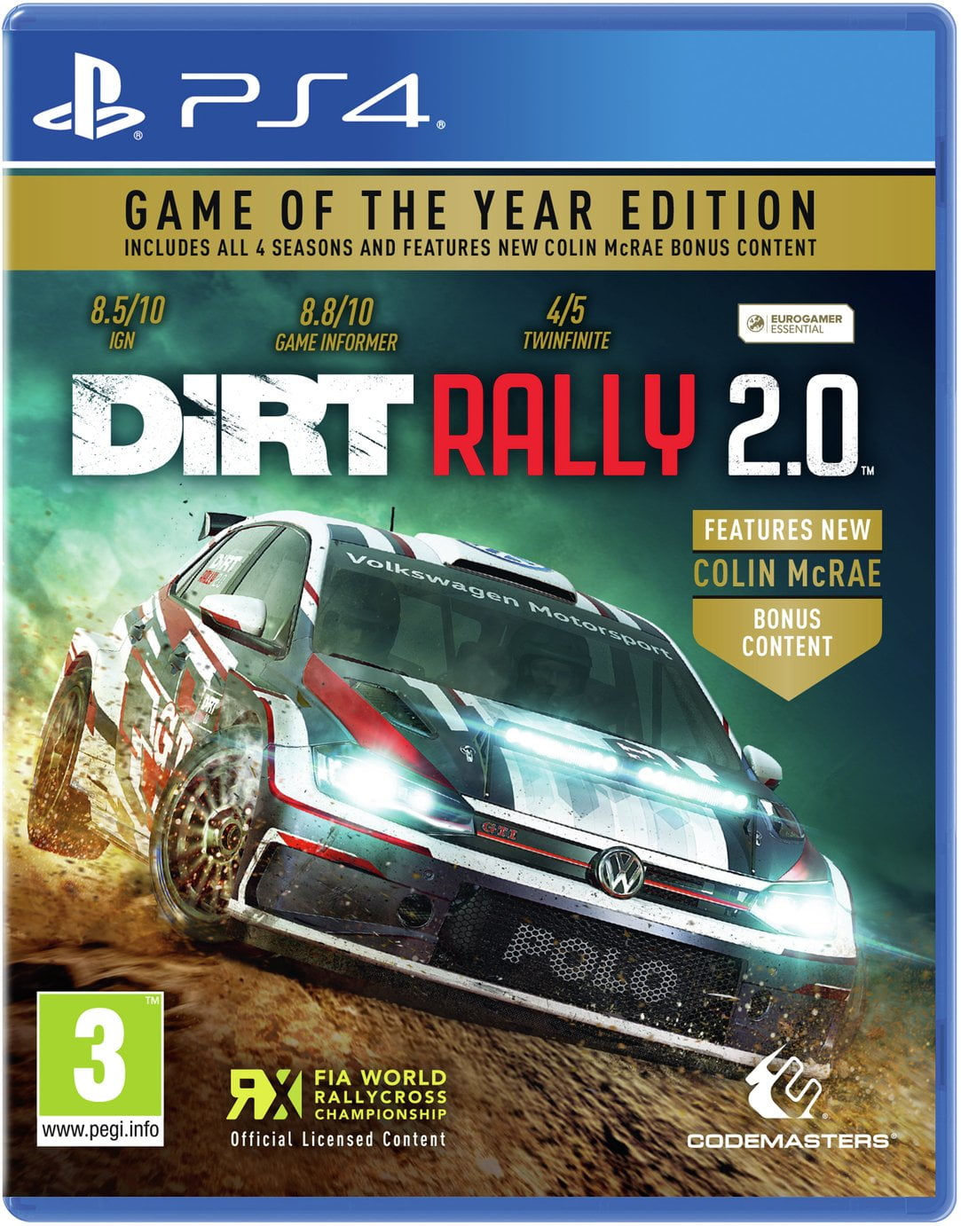 DiRT Rally 2.0 Game of the Year Edition PS4 Game