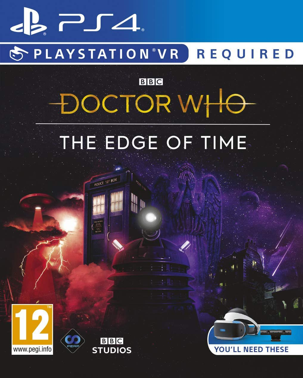 Doctor Who: The Edge of Time PS4 Game