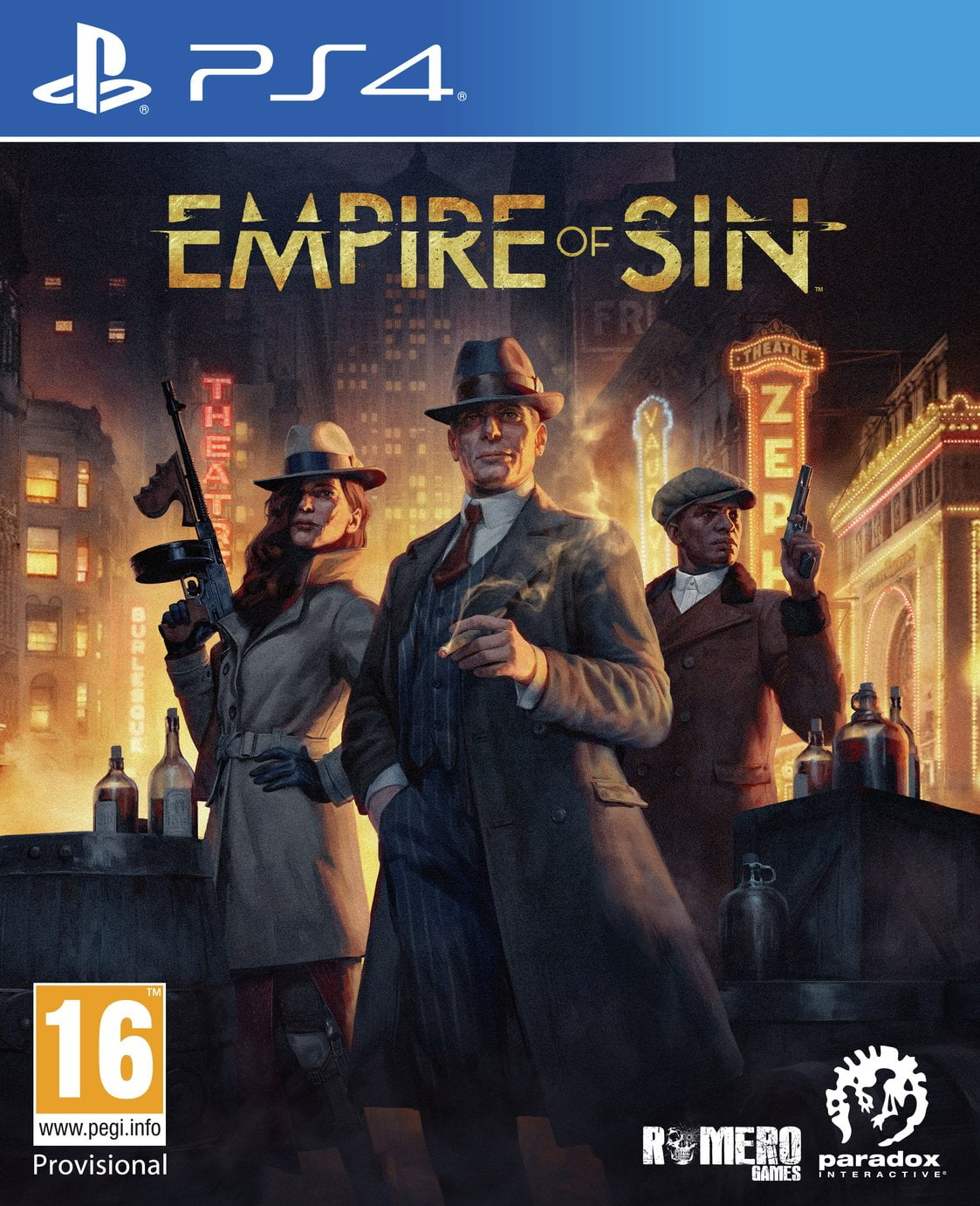 Empire of Sin PS4 Game Pre-Order