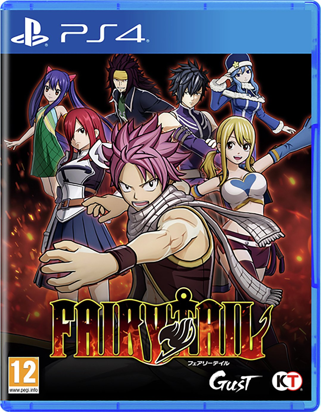 Fairy Tail PS4 Game