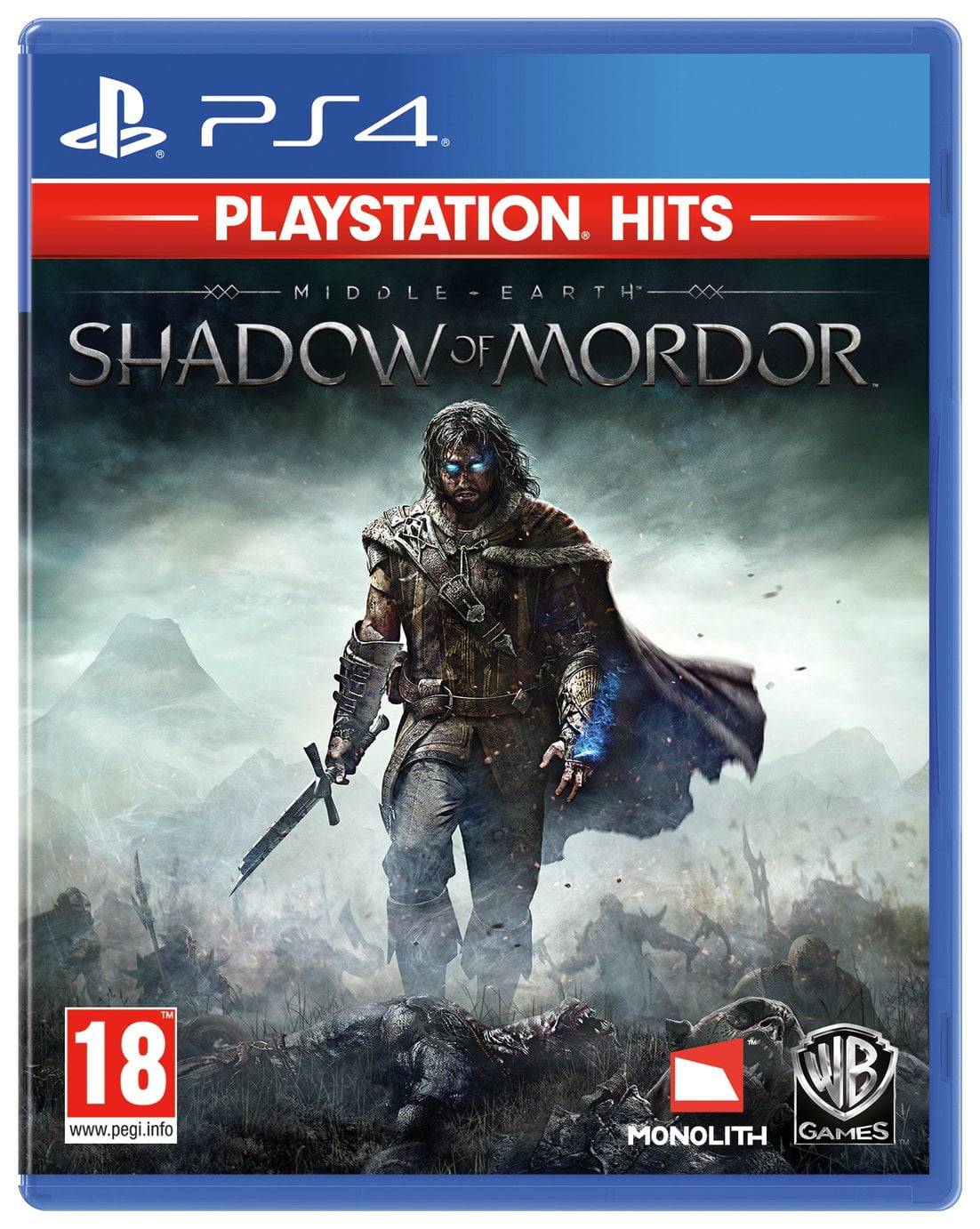 Middle Earth: Shadow of Mordor PS4 Hits Game
