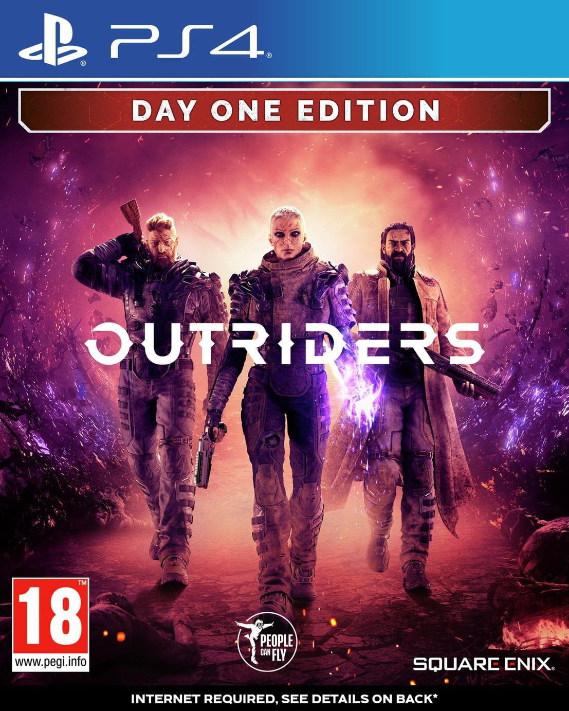 Outriders: Day One Edition PS4 Game Pre-Order