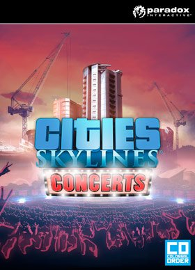 Paradox Interactive Cities: Skylines - Concerts, PC Video game...