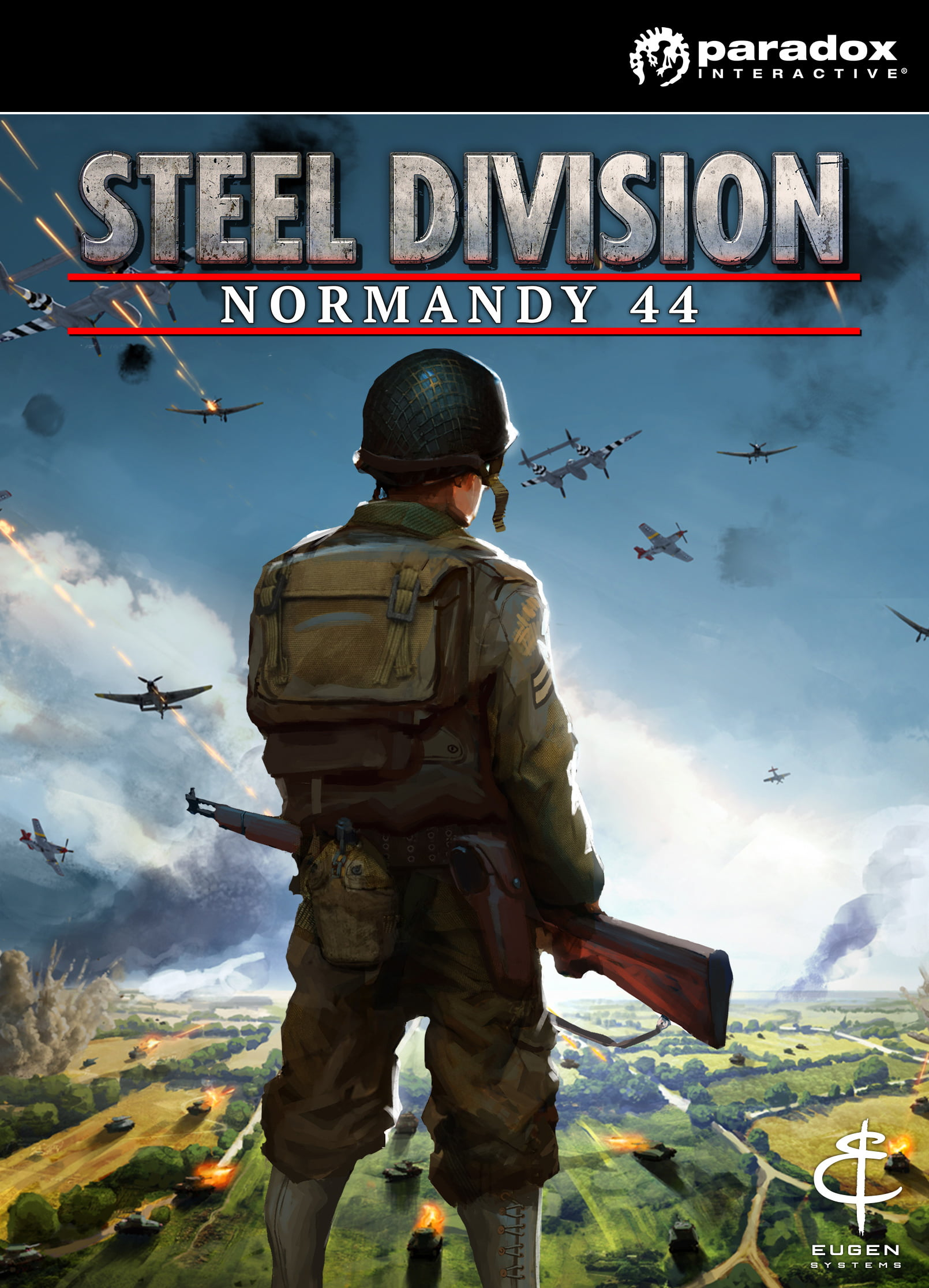 Paradox Interactive Steel Division: Normandy 44 video game PC...