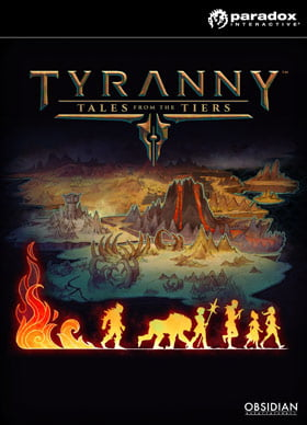 Paradox Interactive Tyranny - Tales from the Tiers, PC Video game...