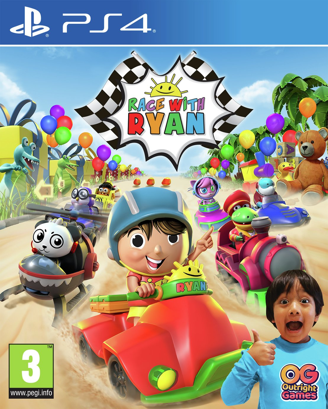 Race with Ryan PS4 Game