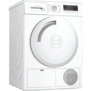 Serie 4 WTN83201GB 8Kg B Rated Condenser Tumble Dryer | White