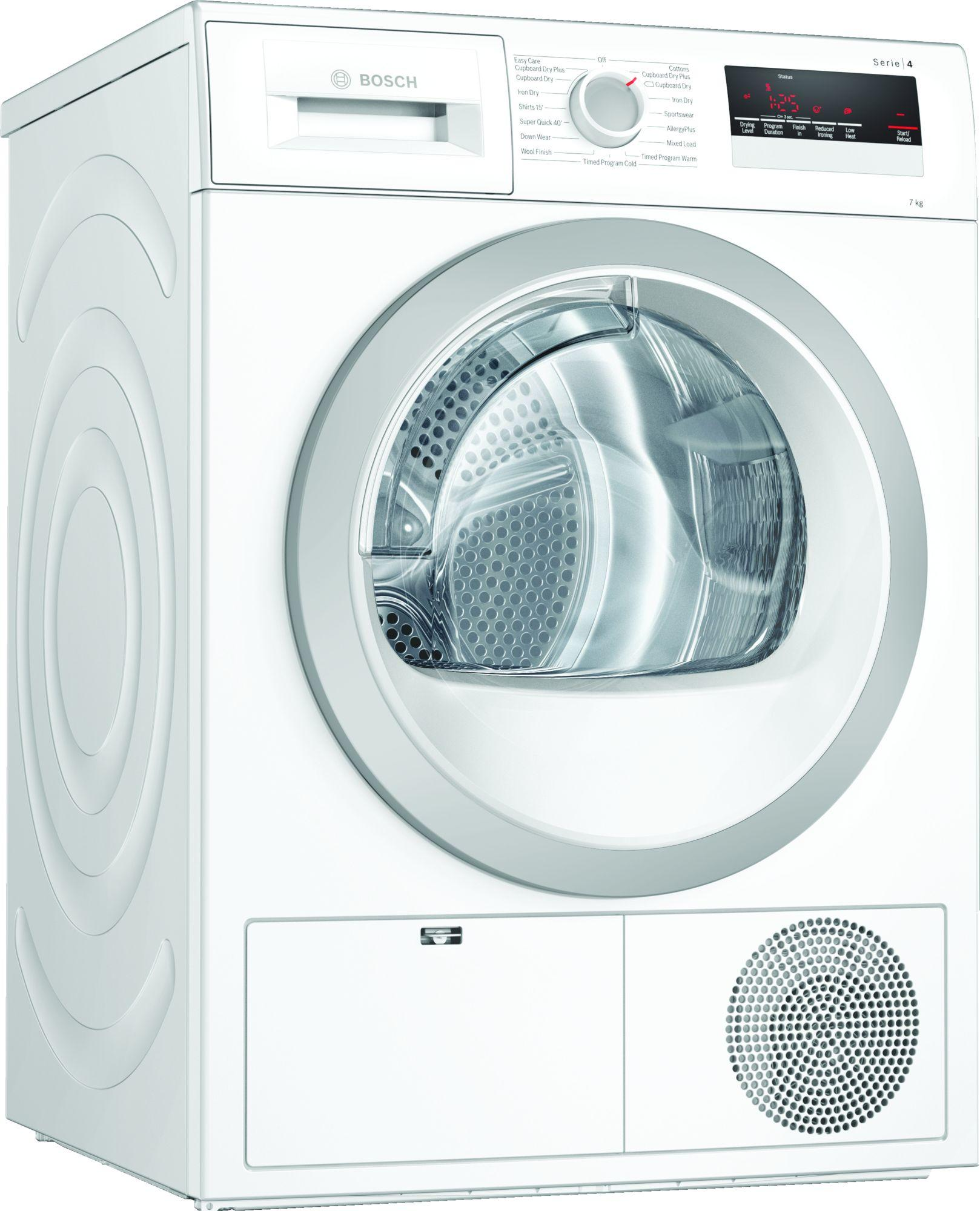 Serie 4 WTN85201GB 7Kg B Rated Condenser Tumble Dryer