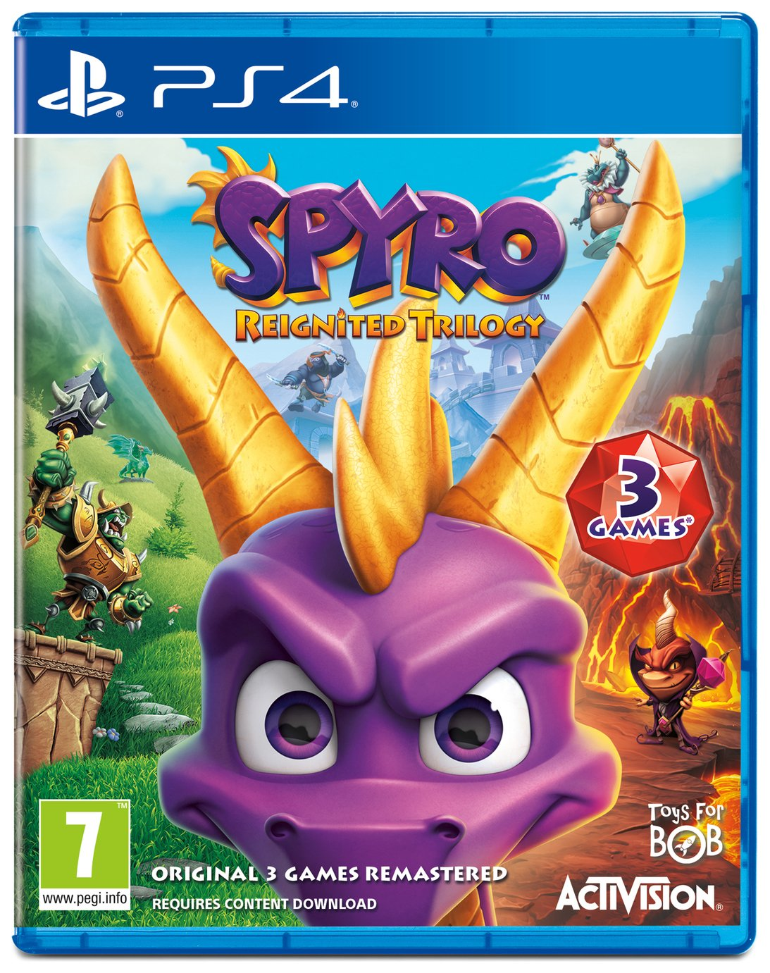 Spyro Reignited Trilogy PS4 Game