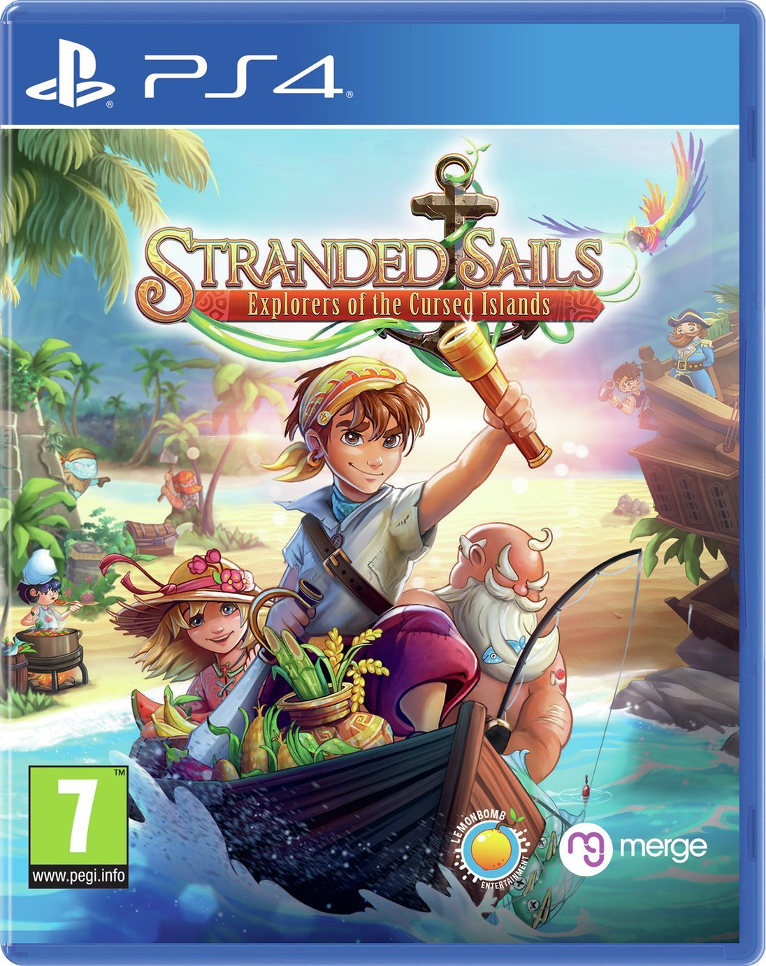 Stranded Sails: Explorers PS4 Game