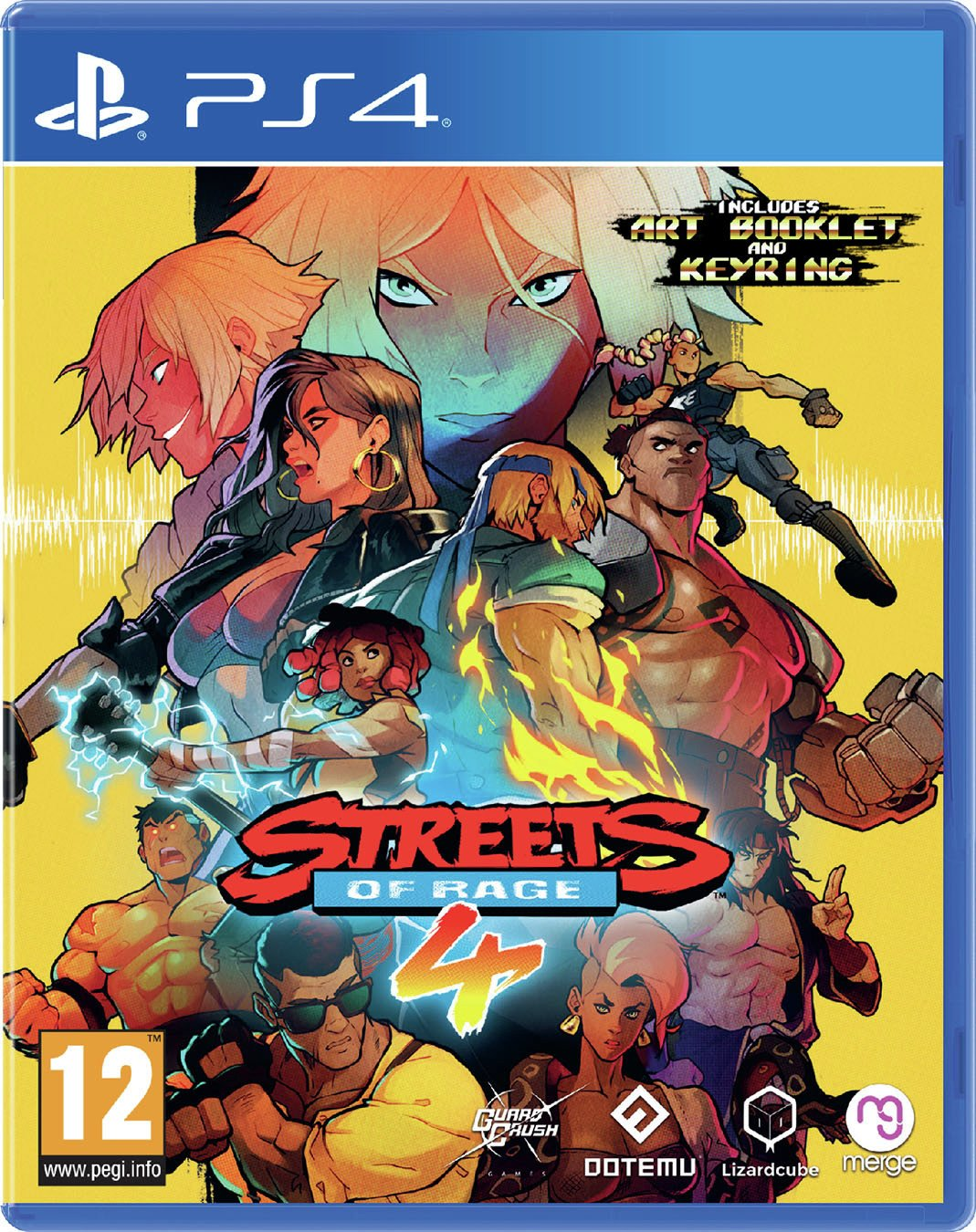Streets of Rage 4 PS4 Game
