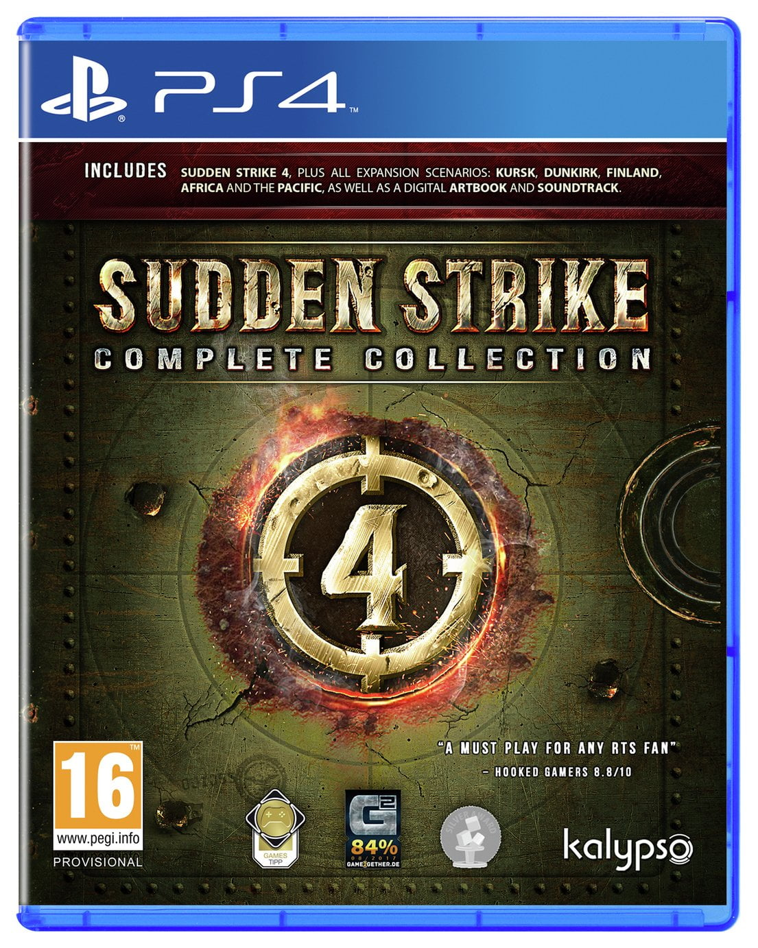 Sudden Strike 4: Complete Collection PS4 Game