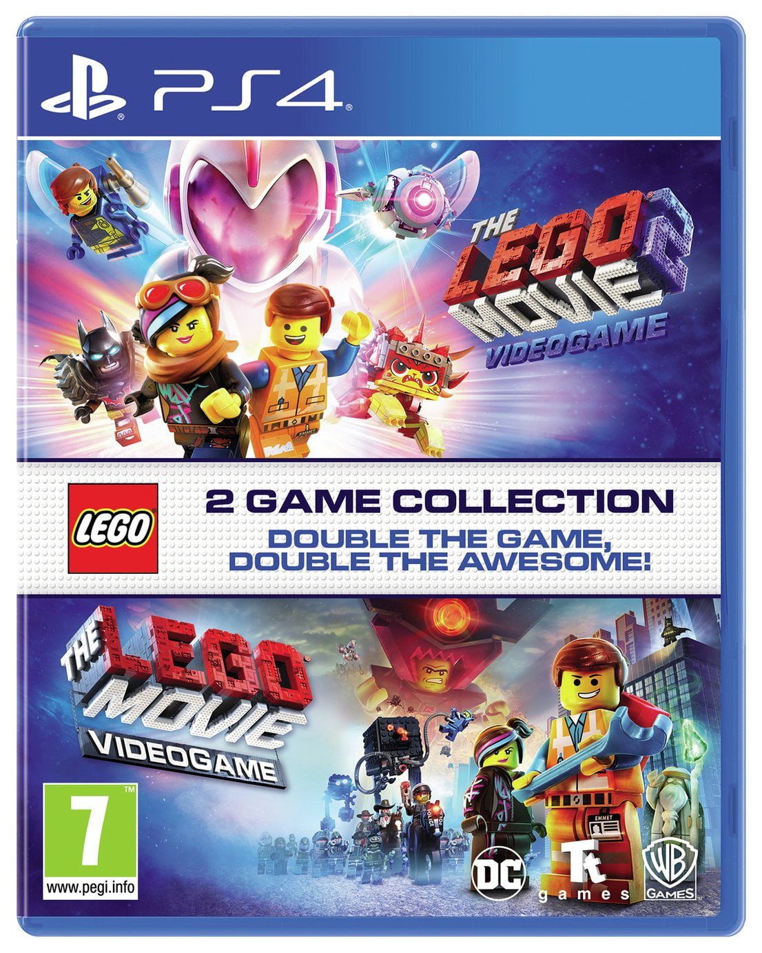 The LEGO Movie 1 & 2 Double Pack PS4 Game
