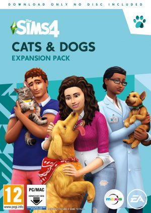 The Sims 4 Cats & Dogs Expansion Pack PC Game