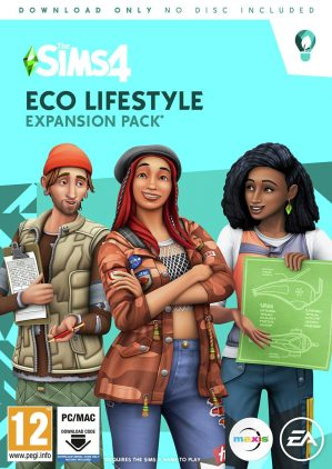 The Sims 4: Eco Lifestyle PC Game Expansion