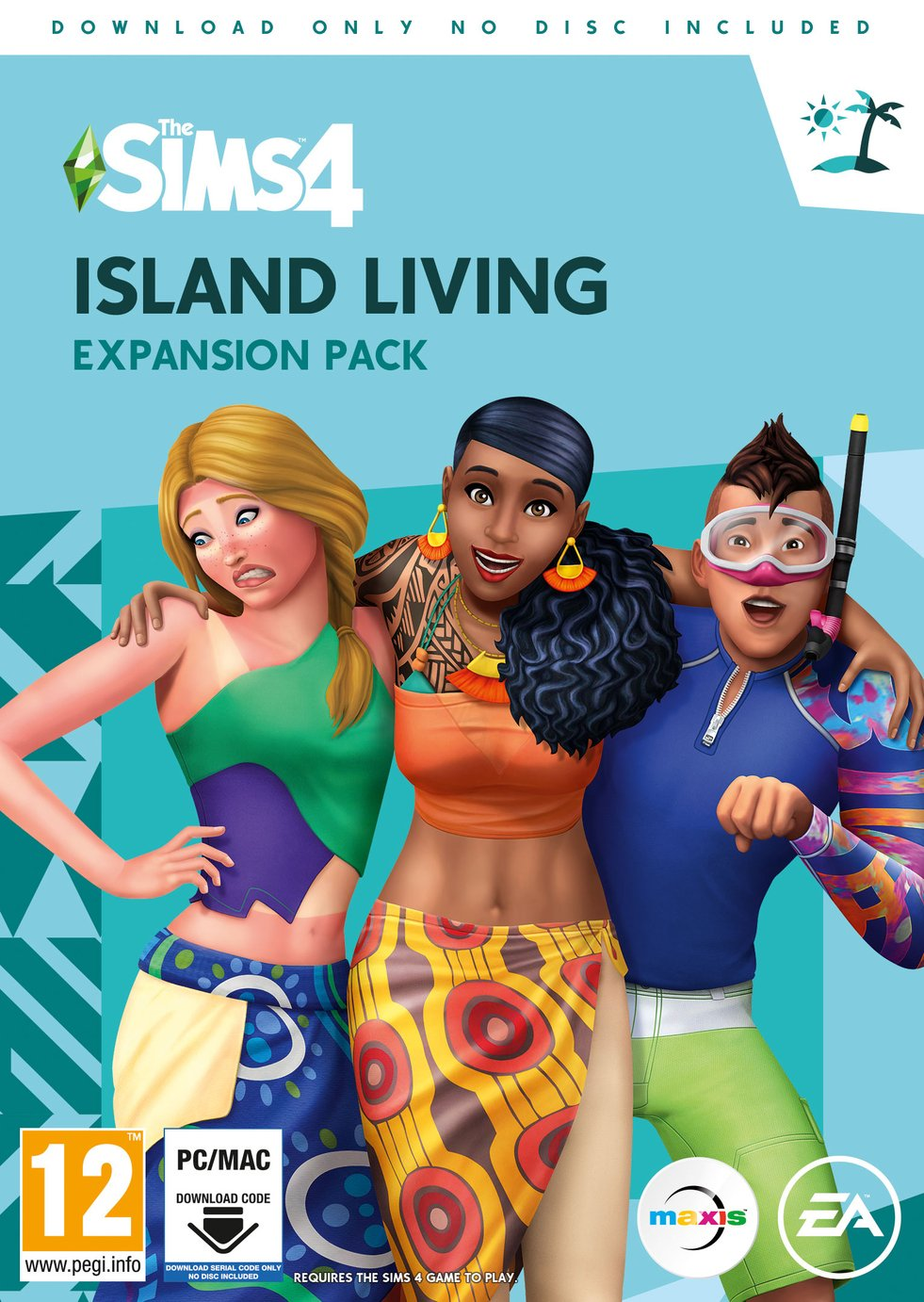 The Sims 4: Island Living PC Game