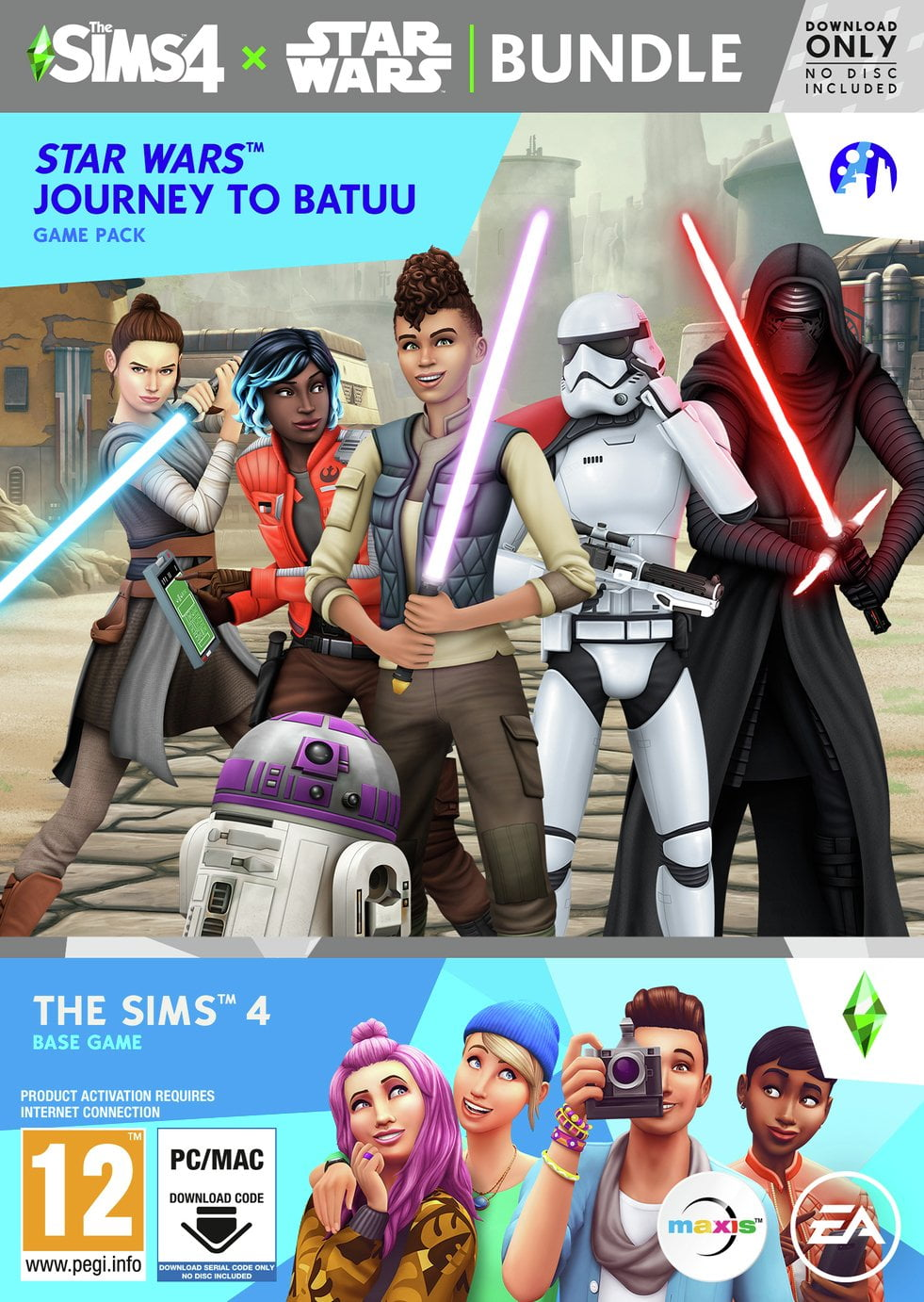 The Sims 4 Star Wars Bundle PC Game