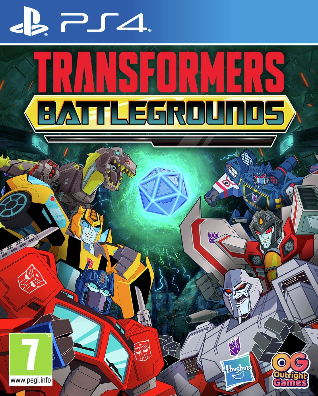 Transformers Battlegrounds PS4 Game Pre-Order