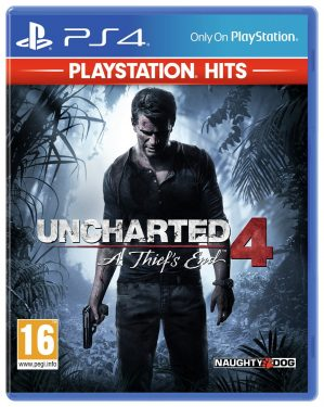 Uncharted 4: A Thief's End PS4 Hits Game