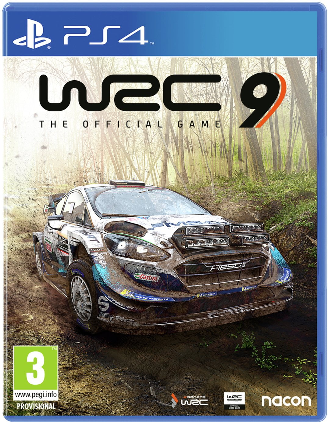 WRC 9 PS4 Game