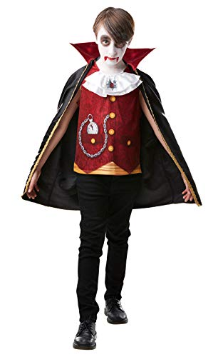 rubies official vampire dracula childs halloween costume size medium age 1 Dracula Vampire Halloween Costume (Ages 5-7, 7-8)