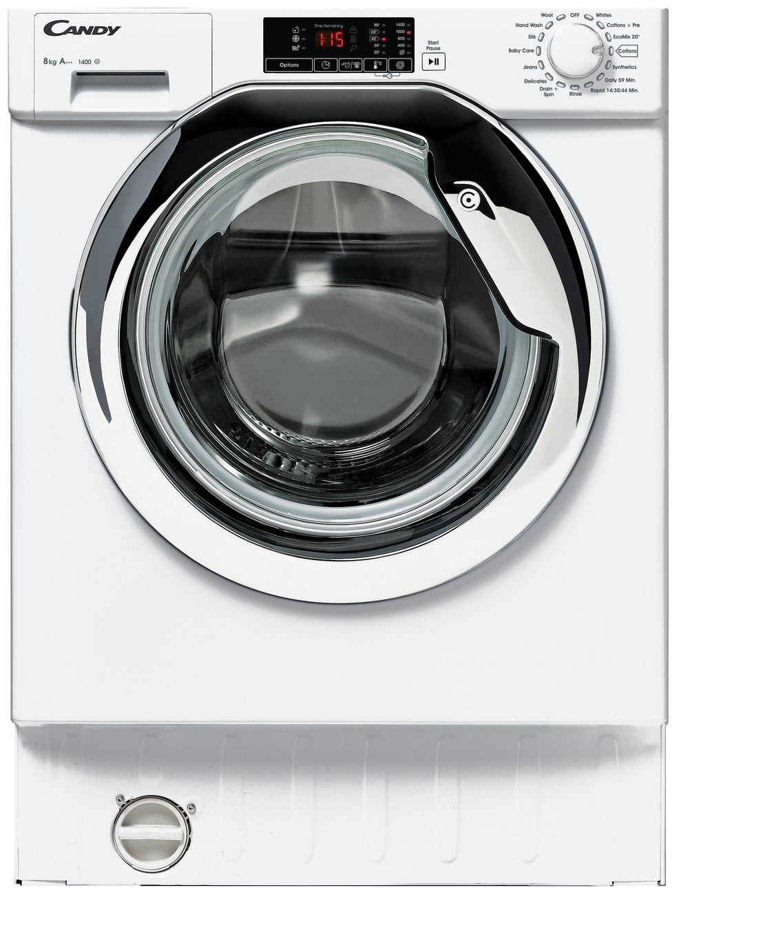 Candy CBWM814DC 8KG 1400 Spin Integrated Washing Machine