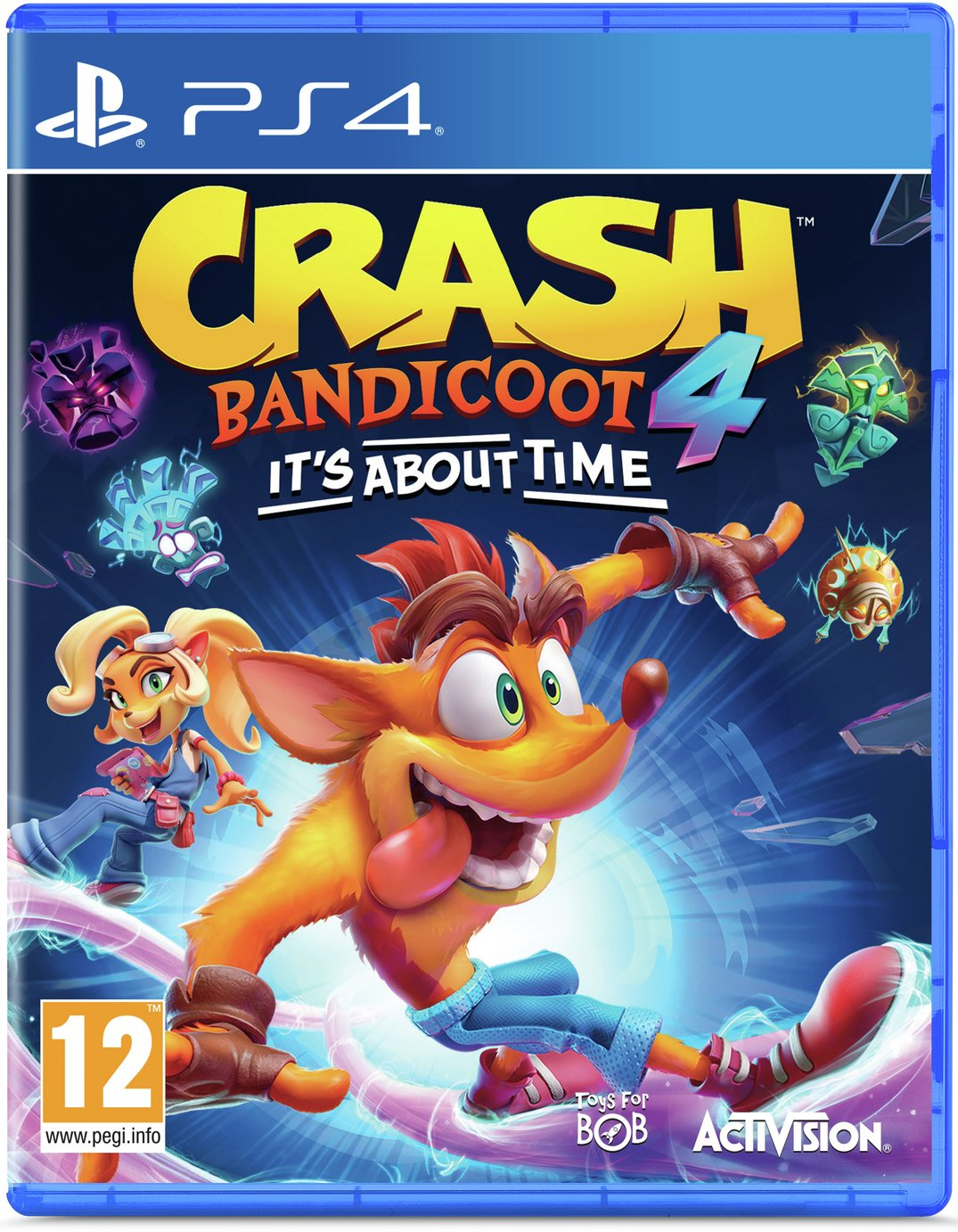 Crash Bandicoot 4: It's About Time PS4 Game