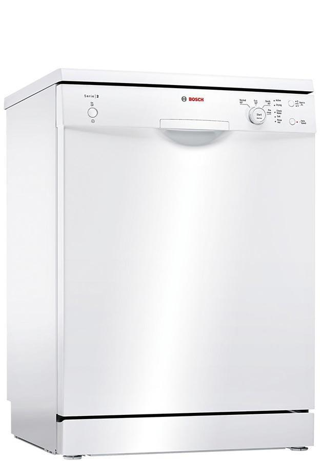 Serie 2 SMS24AW01G 60cm A+ Standard Dishwasher | White