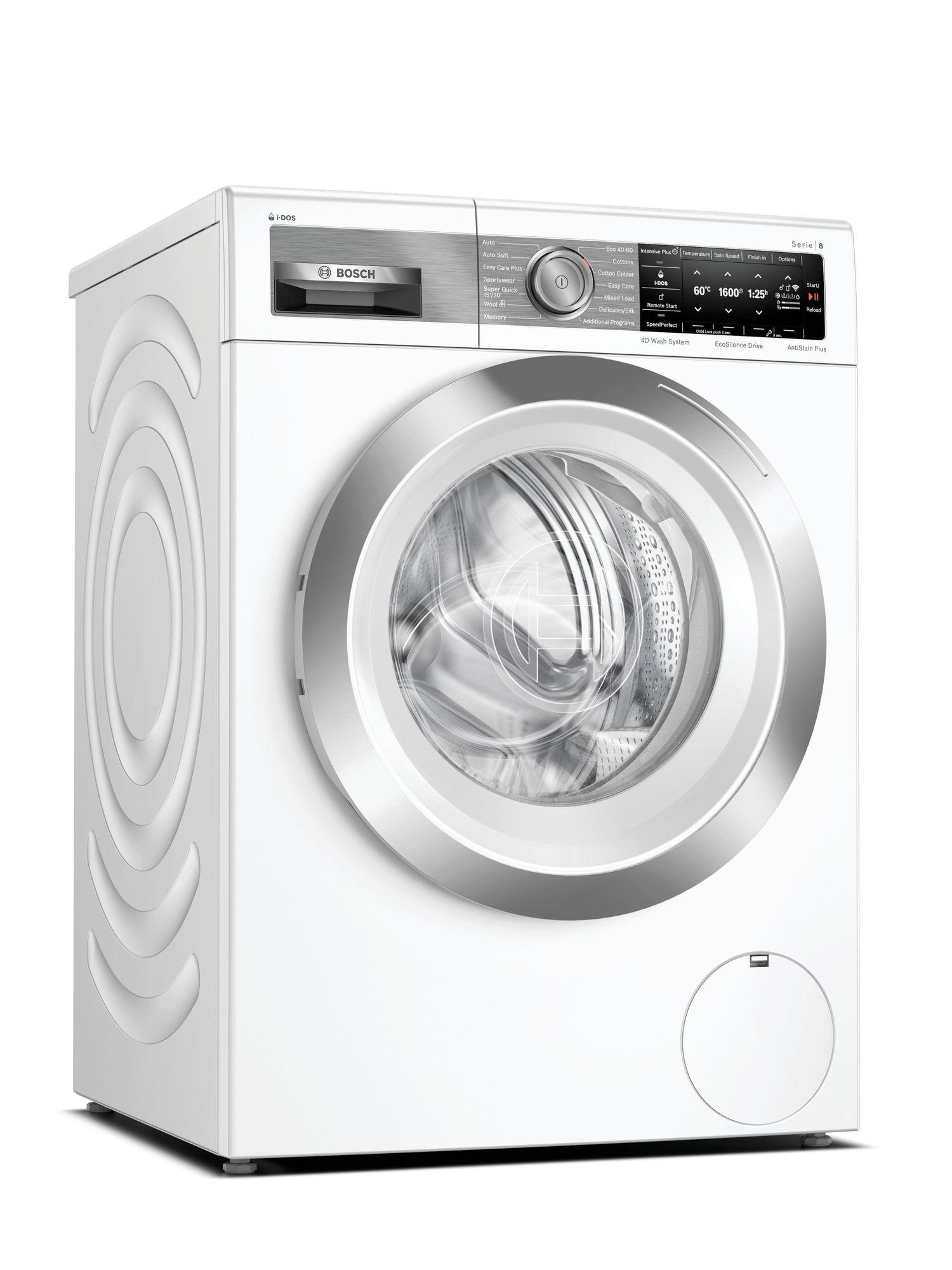 Serie 8 WAX32EH1GB 10Kg 1600 Spin A+++ i-DOS Washing Machine | White