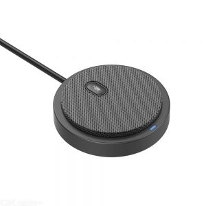 Tyless UM02 Pickup Sound Microphone USB Omni-directional Condenser Microphone For Meetings Drive-free Mic For Gaming Voice Chat