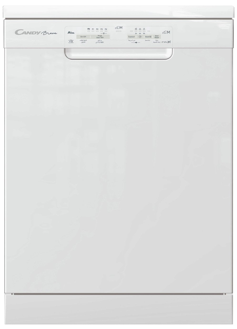Candy CDPN 1L390PW Full Size Dishwasher - White