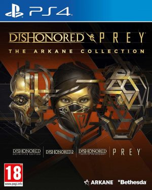 Dishonored & Prey: The Arkane Collection PS4 Game