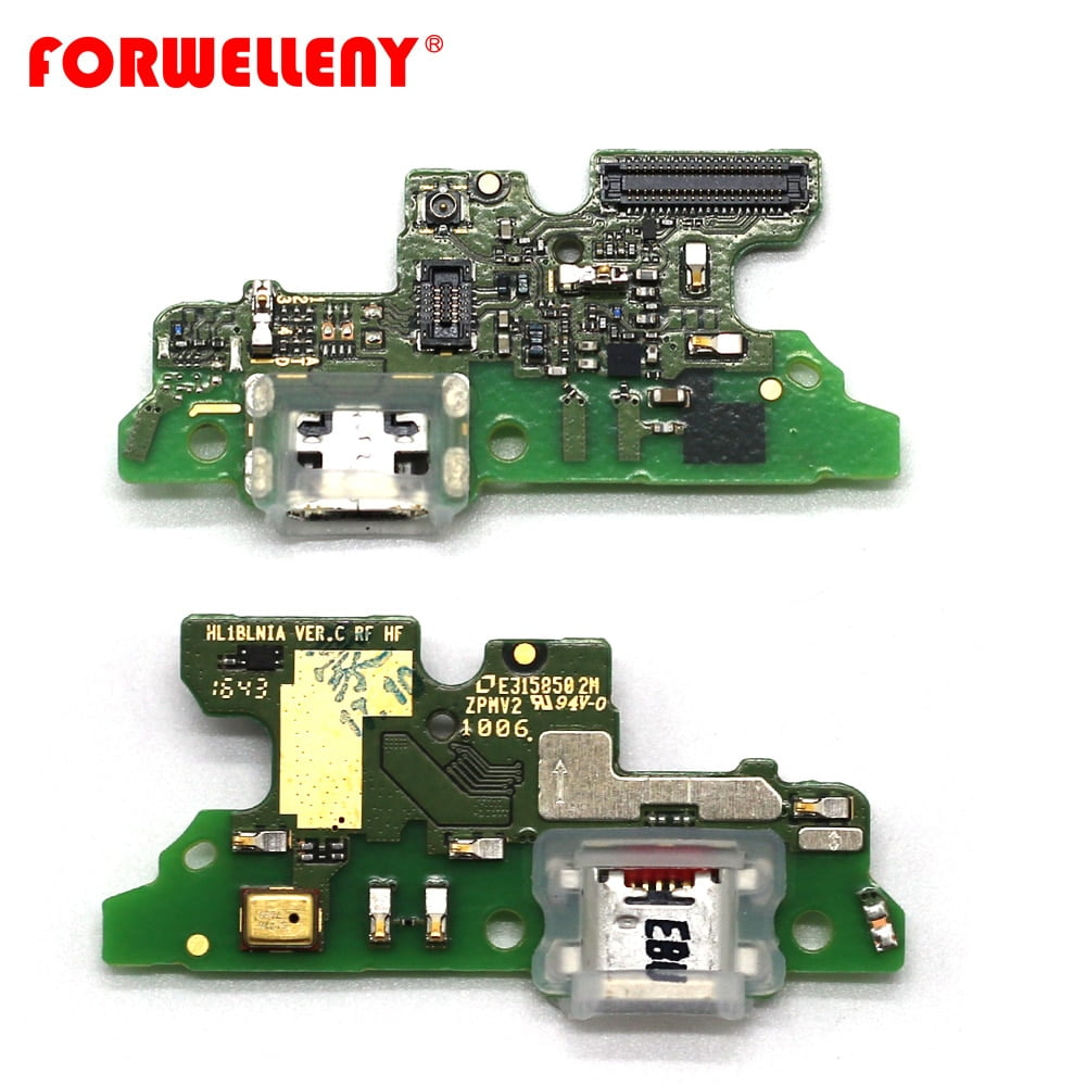 For Honor 6X USB Charger Charging Port with Mic Microphone bottom Circuits board BLN-L21 BLN-AL20 BLN-L22