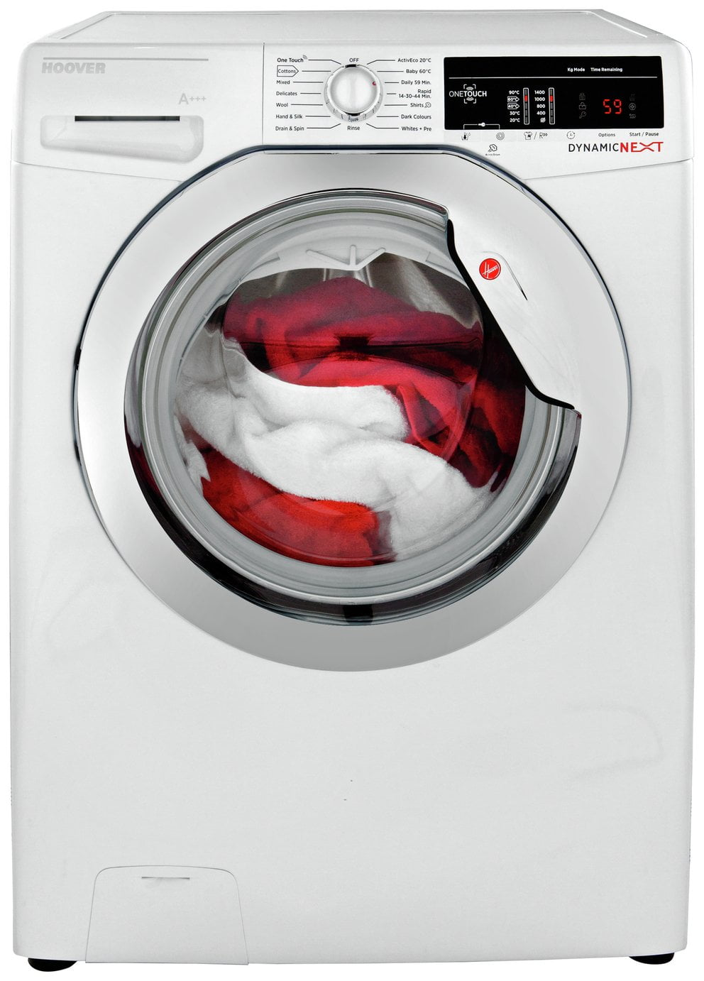 Hoover DXOA 49C3 9KG 1400 Spin A+++ Washing Machine - White