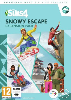 The Sims 4 Snowy Escape Expansion Pack PC Game