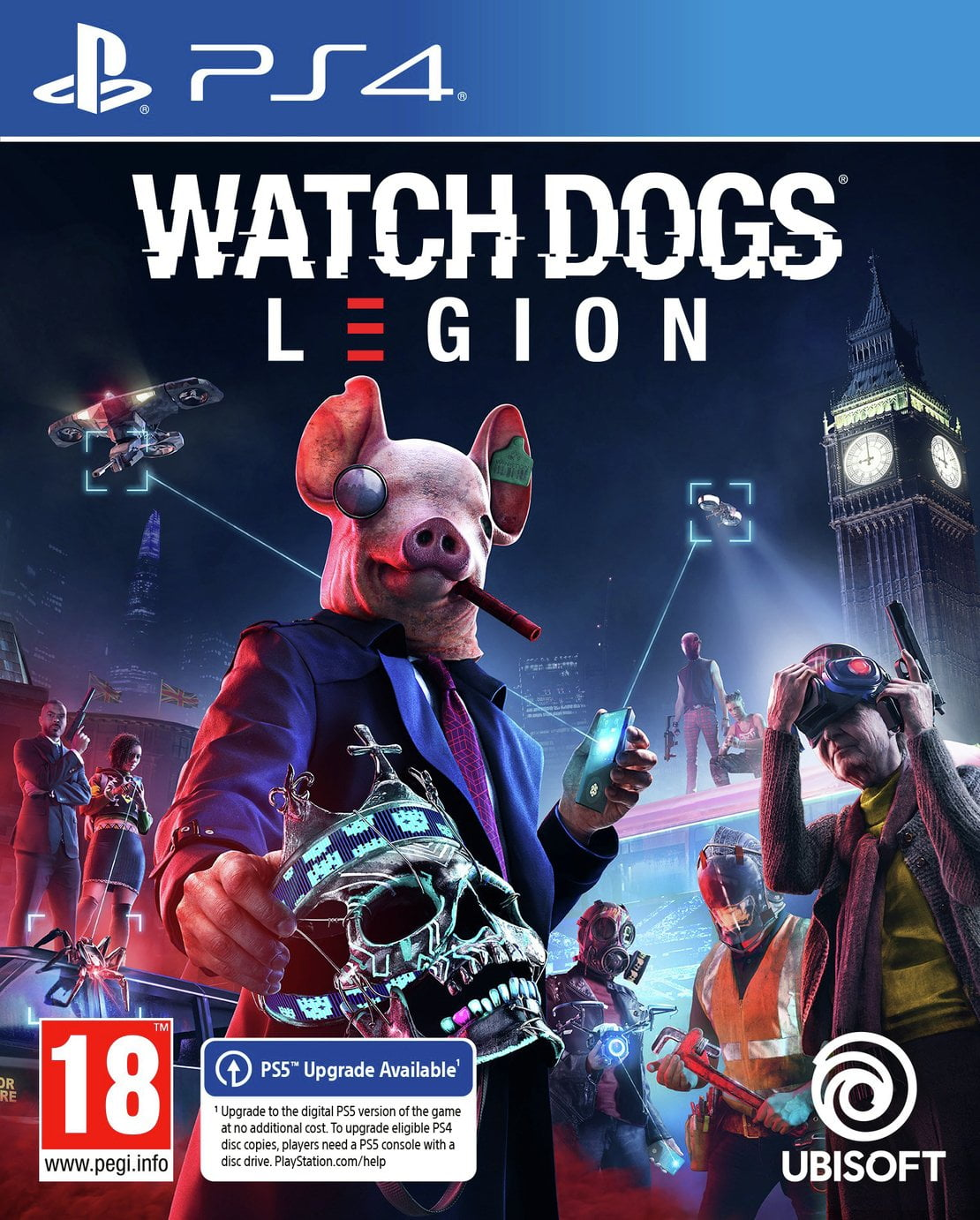 Watch Dogs 3 Legion PS4 Game