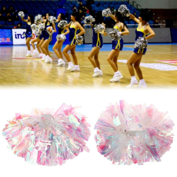 1 pc game pompoms practical cheerleading pom poms apply to sports match and vocal concert color can combination