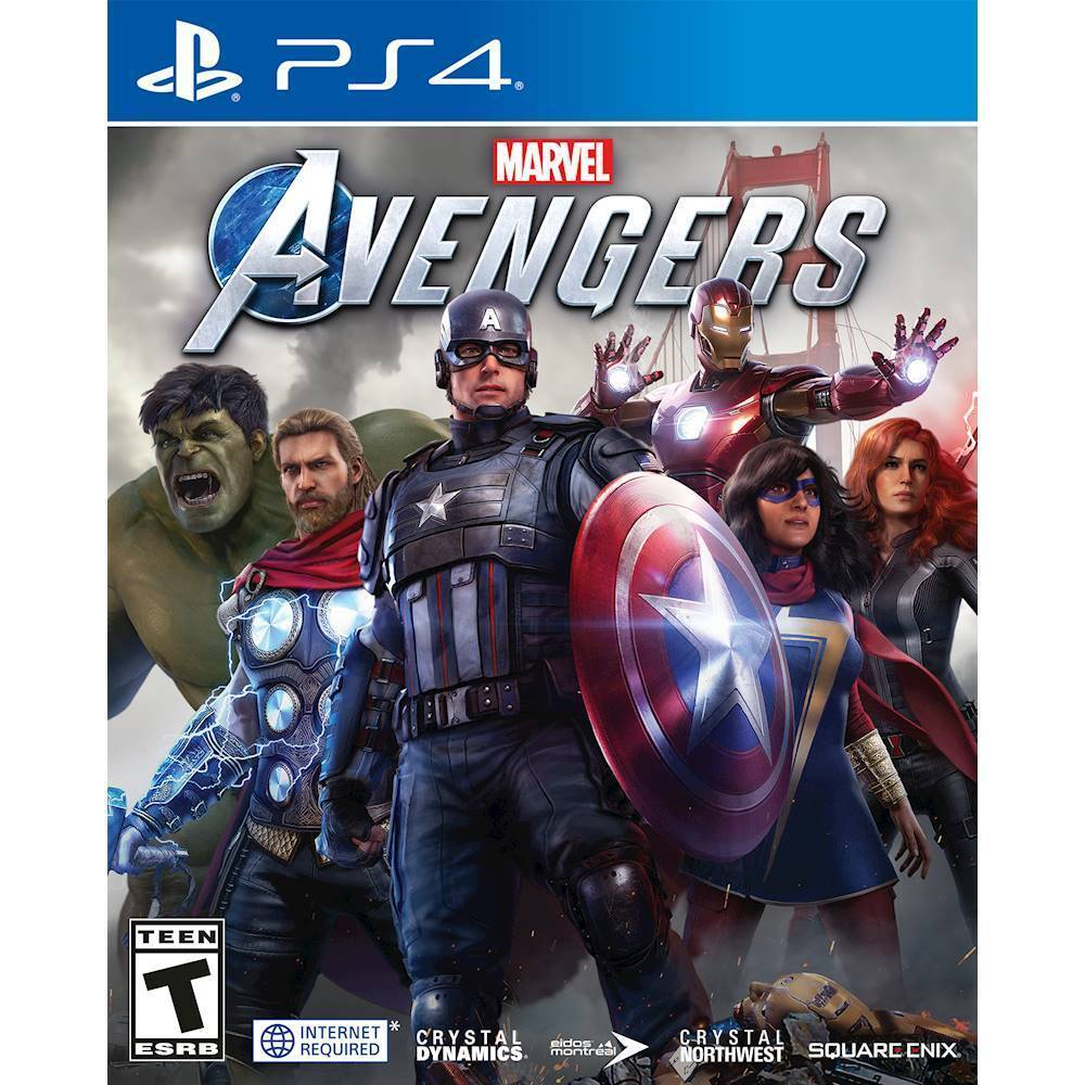 PS4 Game Marvel's Avengers Standard Edition for PlayStation 4 [English Only]