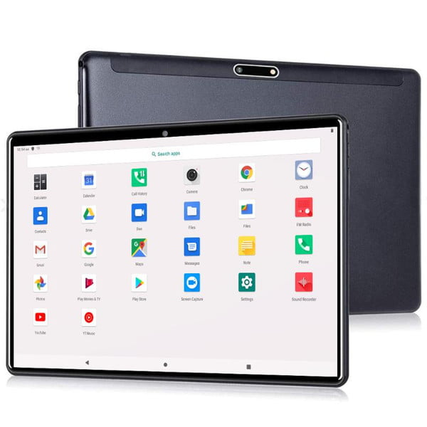 lnmbbs 4g lte 64gb rom octa core 10'' tablet pc android 9.0 3gb ram support pubg game and 5g wifi big battery 5000mah type-c
