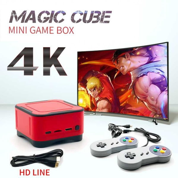 new mini retro game console arcade ps1 fc gaming consoles 4k hd video game player 16gb 1500 games box home tv pc mp3 mp4 players