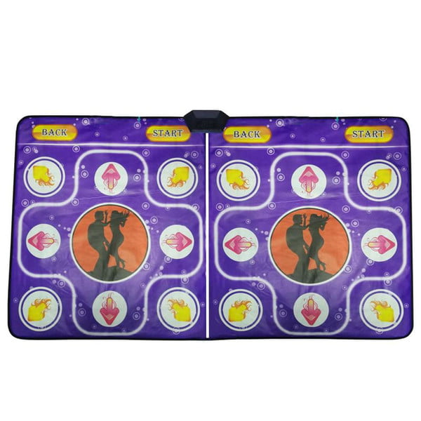reledouble human dance blanket pads computer tv slimming dancer blanket mat pad with two handle sense game for pc & tv #3