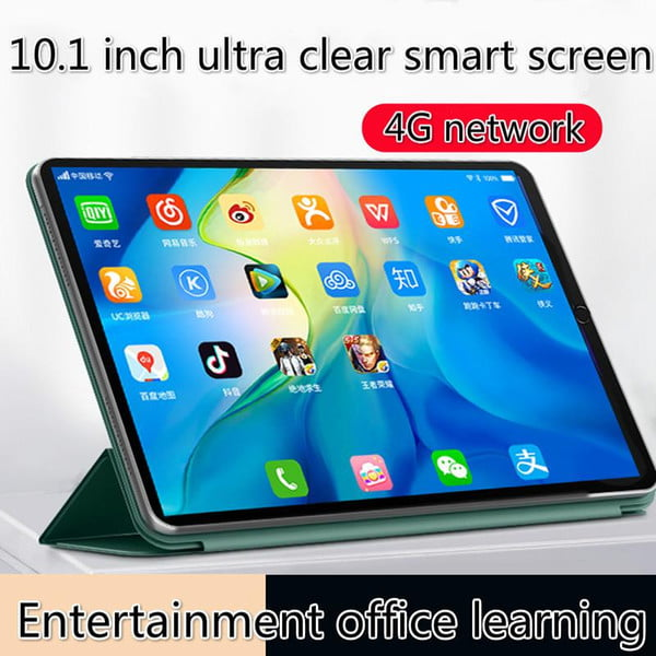 tablet pc 2021 new 10.1-inch android 4gwifi student online android9.0 tablet call universal chicken game