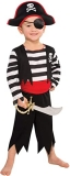 Amscan Toddler Rascal Deckhand Pirate Costume (3-4 Years)