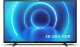 Philips 43PUS7505/12 43-Inch TV (4K UHD TV, P5 Perfect Picture Engine, HDR 10+ Supported, Smart TV, Dolby Vision, Dolby Atmos, Freeview Play, 3 x HDMI, 2 x USB) – Glossy Black (2020/2021 Model)