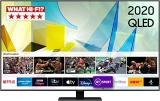 Samsung 2020 55″ Q80T QLED 4K HDR 1500 Smart TV with Tizen OS CARBON SILVER